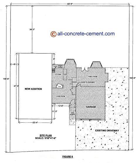 Home addition plans room addition blueprint garage floor for Building plans room addition