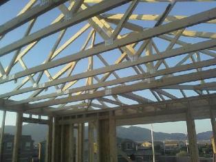 Roof framing, Roof truss blocking, Roof truss installation, framing roof