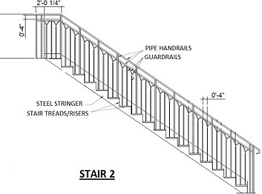 Steel Section For Building Stair Stringers
