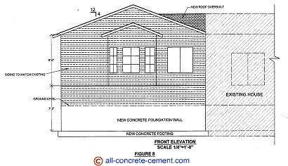 Home addition plans room addition blueprint garage floor for How to draw home addition plans